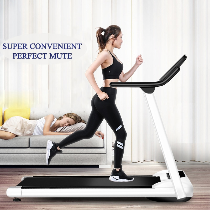 2020 new electric flat walking machine indoor fitness equipment slimming slow treadmill JOYLIVE Indoor Exercise Equipment Gym Folding House Fitness Treadmills Multifunctional Foldable Mini Fitness Home Treadmill