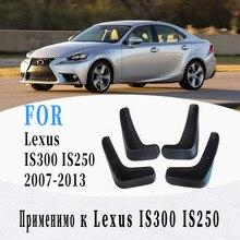 Garde-boue de voiture pour Lexus IS300 IS250 garde-boue garde-boue garde-boue accessoires de voiture auto style 4 pièces 2007-2013