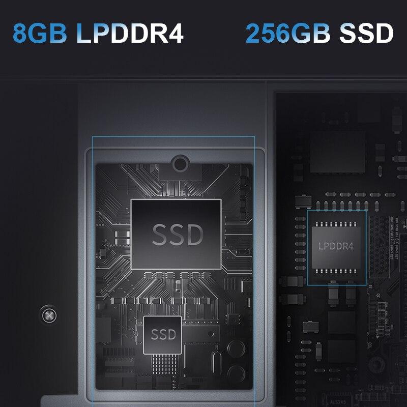 Bmax Y13 Laptop 360° Rotating 13.3 inch Windows 10 8GB RAM 256GB SSD 1920*1080 IPS touch screen Intel Celeron N4120 notebook