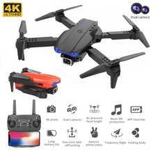 EBORUI K3 RC Drone 2.4Ghz 4K Dual Cams WiFi FPV Remote Control Drone Altitude Hold One-Key-Return Foldable RC Quadcopter Toy RTF