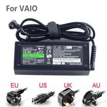 19.5V 4.7A 90w adaptateur secteur chargeur de batterie pour Sony Vaio série VGN, cordon dalimentation inclus