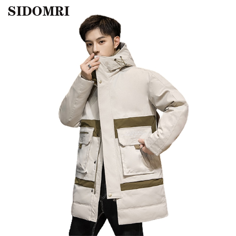 Men  Winter Jacket Brand New Casual Warm Thick Hooded Clothes   Parkas Coat Men New Outwear Windproof Hat Parkas Jacket Men