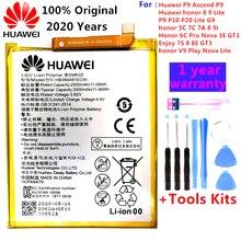 2020 original 100% HB366481ECW Real 3000mAh batería para Huawei P9 Ascend P9 P10 Lite P20 Lite G9 honor 8 5C batería + Kits de herramienta