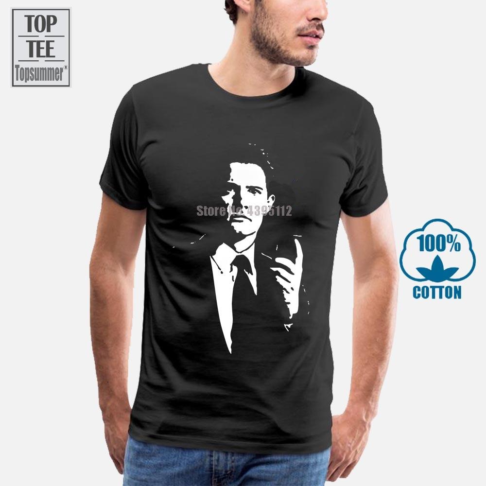Agente especial del Fbi, Dale, camiseta de cobre Bartholomew, Top Twin Peaks 2019, gran oferta, camiseta de verano de manga corta con cuello redondo para hombre
