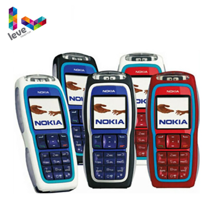 Used Nokia 3220 GSM 900/1800 Support Multi-Language Unlocked Refurbished Cell Phone Free Shipping
