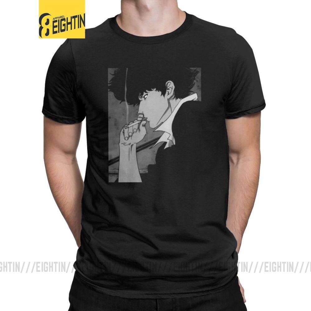 You're Gonna Carry That Weight Cowboy Bebop Men T Shirts Spike Manga Jet Faye  Tee Shirt Short Sleeve T-Shirts 100% Cotton