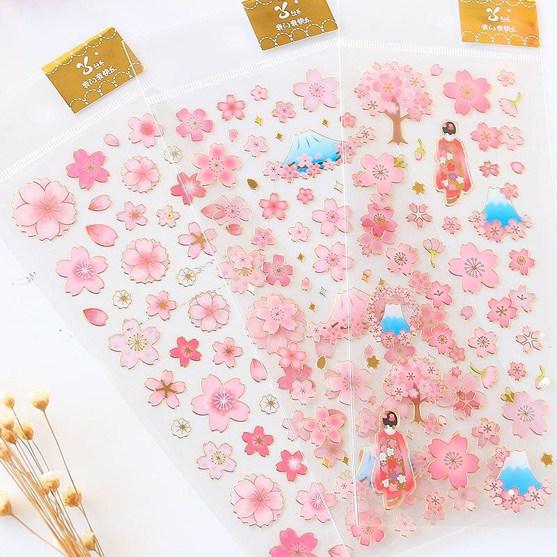 giappone-doratura-sakura-fiori-adesivi-decorativi-adesivi-adesivi-casa-fai-da-te-decorazione-adesivi-diario-di-cancelleria-per-bambini-regalo