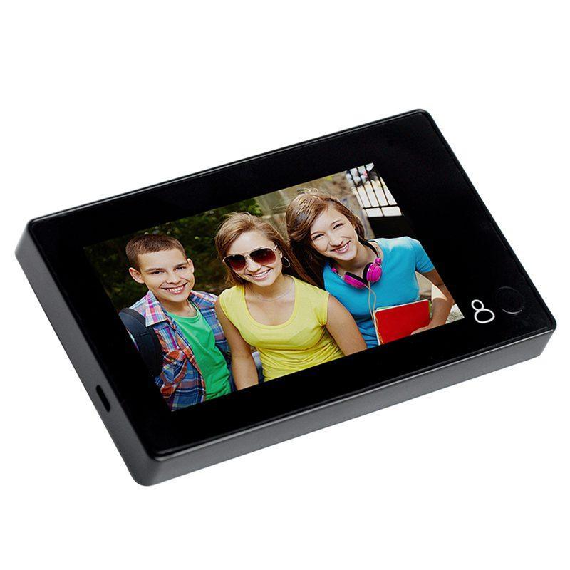 4.3 Inch Wifi Digital Peephole Doorbell 145 Degree Door Peephole Camera Viewer Outdoor Door Bell One-Click Viewing enlarge