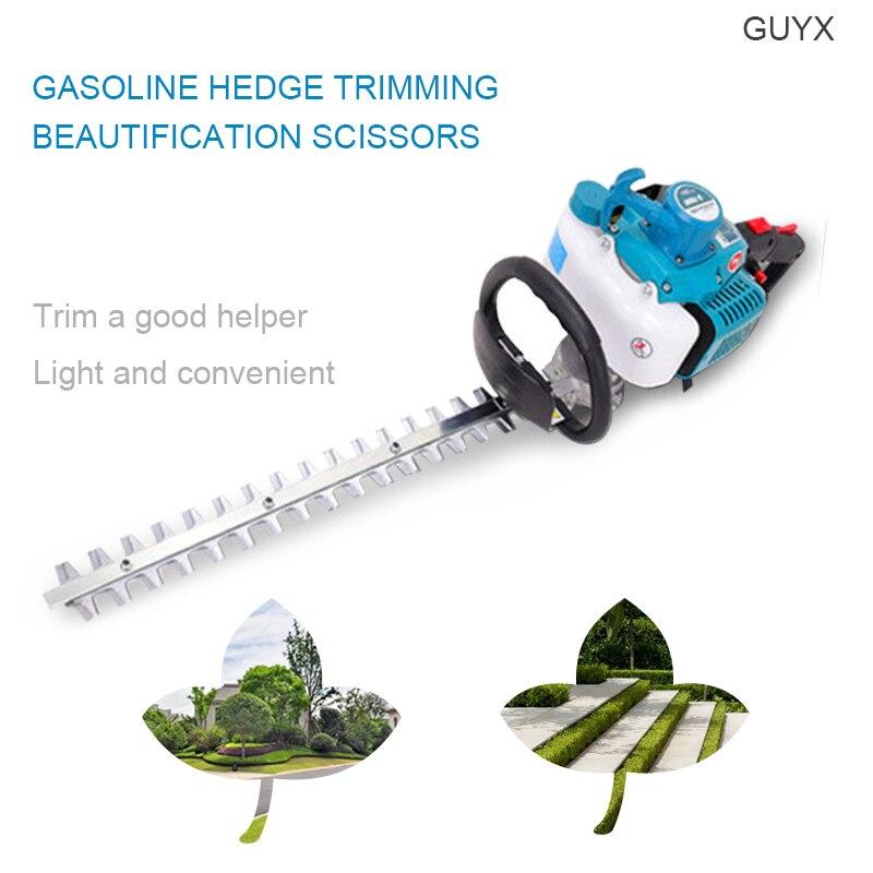 Blade knife two four stroke gasoline hedge trimmer landscaping scissors tea leaf trimming machine fence shears