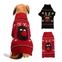 small medium and large dog sweater christmas pet clothes dogs clothes dog sweater
