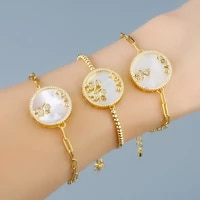 funmode fashion cute boy girl design charm bracelets for women girls pulseras with lobster buckle chain wholesale fb41