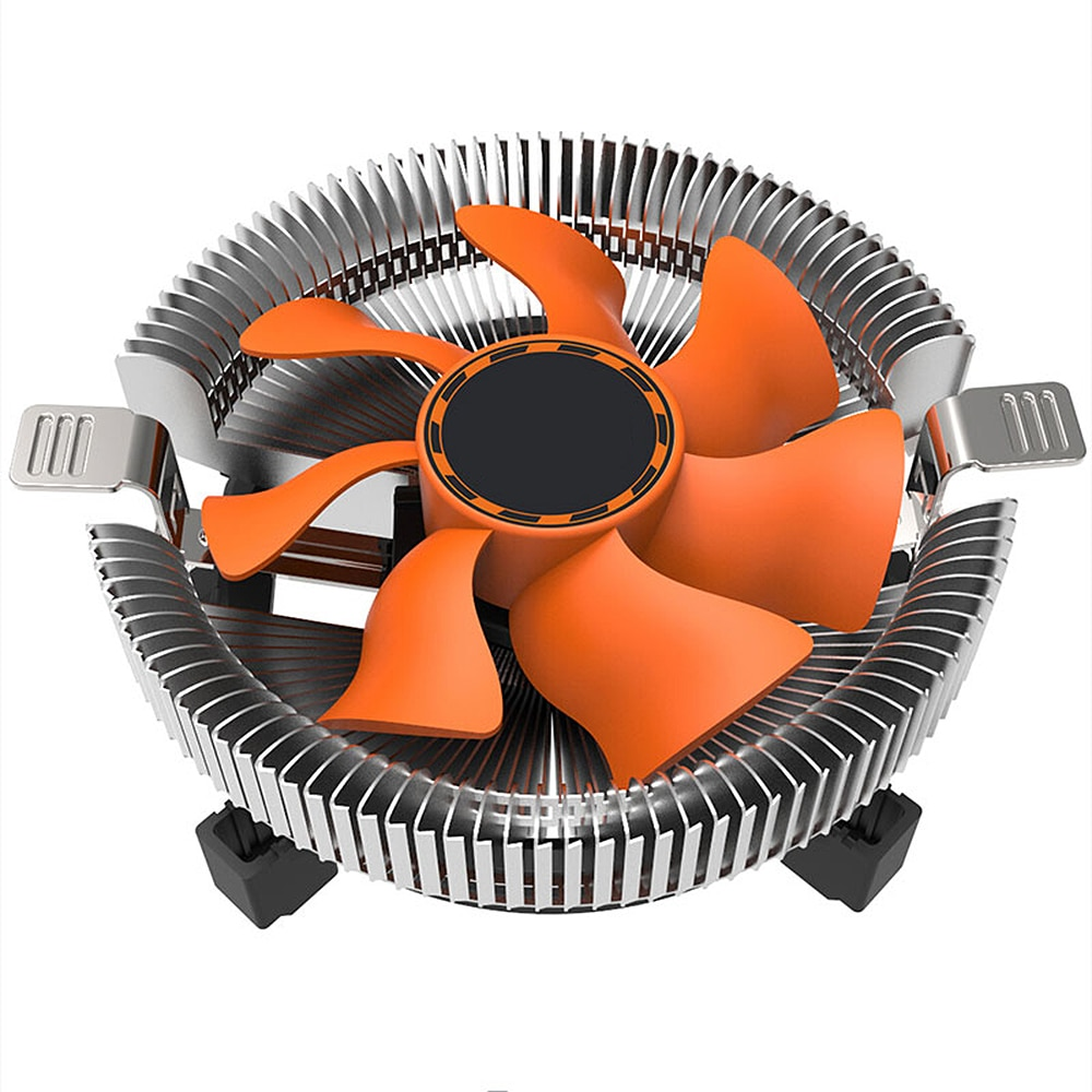 CPU Cooler CPU Computer Fan AMD Intel Silent 3Pin Cooling Cooler Fan General LGA/115X/775/AM3/AM4/1155/1156