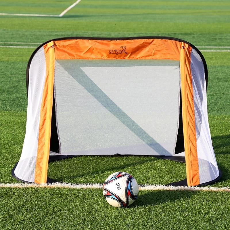 Los niños de los niños al aire libre de fútbol Puerta de Mini fútbol brazo red objetivo juventud juego equipos de dispositivo
