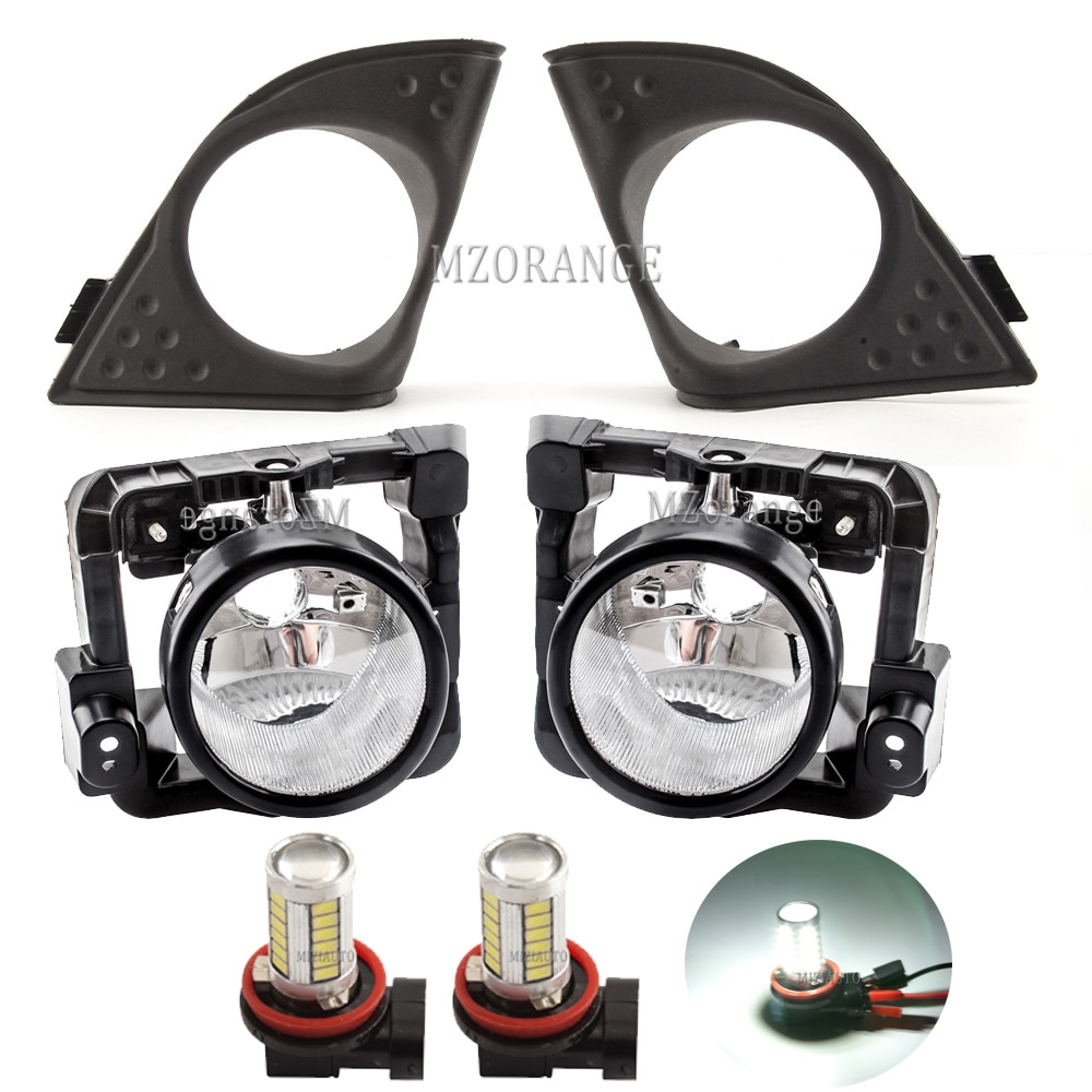 for 07 08 09 10 hyundai elantra fog lights wiring kit included clear lamps usa domestic free shipping hot selling Fog light fog lamp For Honda spirior 2008 2009  2010 For Acura TSX led fog lamps Front Bumper Fog Lights Driving Lamps