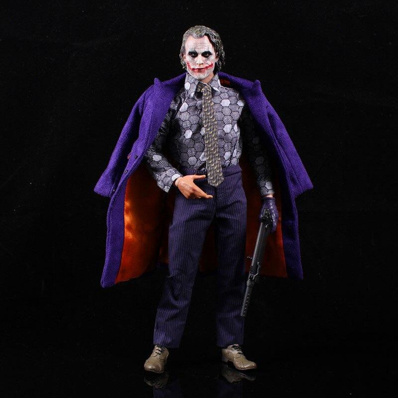 Échelle 1/6 Commoner Clown Heath Ledger ensemble complet vêtements corps W scène accessoires 12
