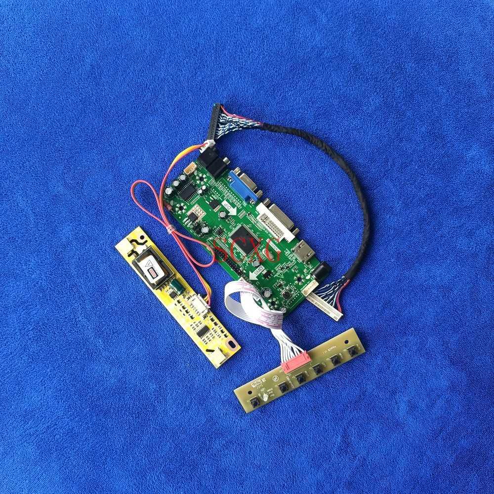 DVI VGA HDMI-متوافق مع M.NT68676 محرك مجلس شاشة الكريستال السائل 1280*800 LVDS 30 دبوس عدة 2CCFL صالح TX39D80VC1GAA/LQ154K1LA5E/QD15TL08