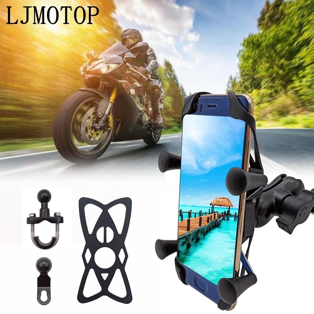 Soporte Universal USB con cable para teléfono GPS y motocicleta recargable para BMW R1200RT/SE R1200S R1200ST S1000R S1000RR