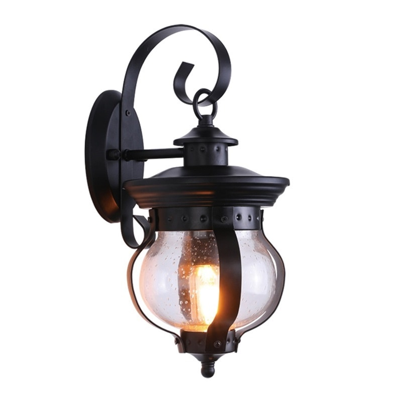 BRIGHT Outdoor Retro Wall Light Classical Sconces Lamp Waterproof IP65 LED For Home Porch Villa enlarge