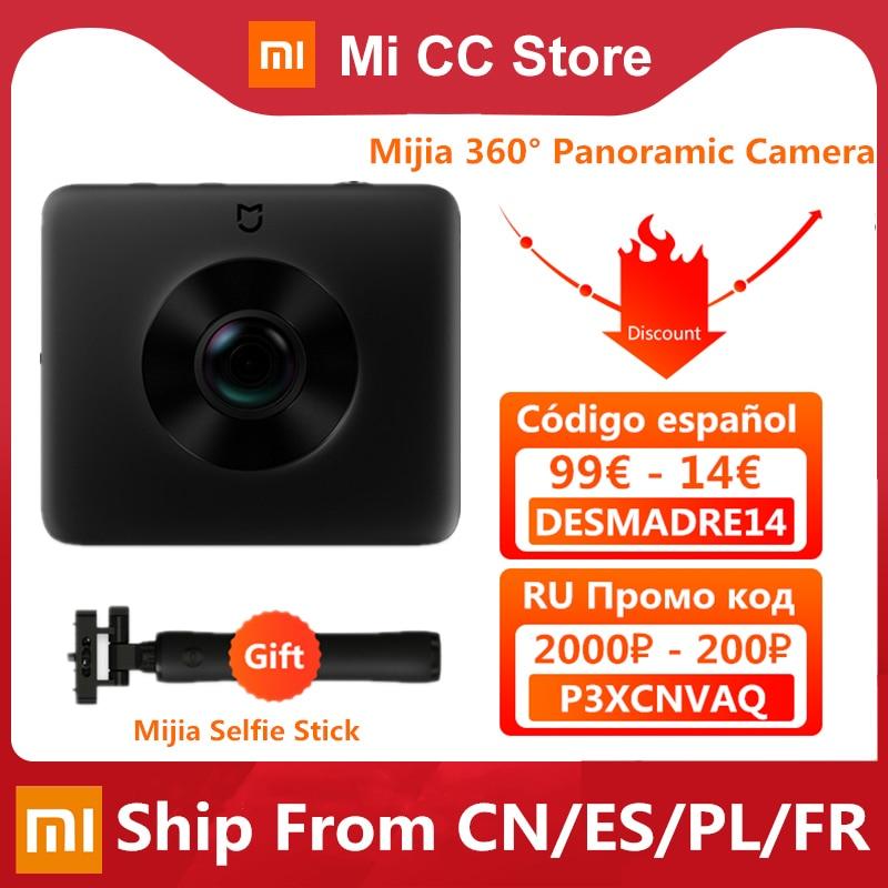 AliExpress - Original Xiaomi Mijia 360° Panoramic Camera IP67 3.5K Video Recording Sphere Camera Rating WiFi Bluetooth Mini Sport Camcorder