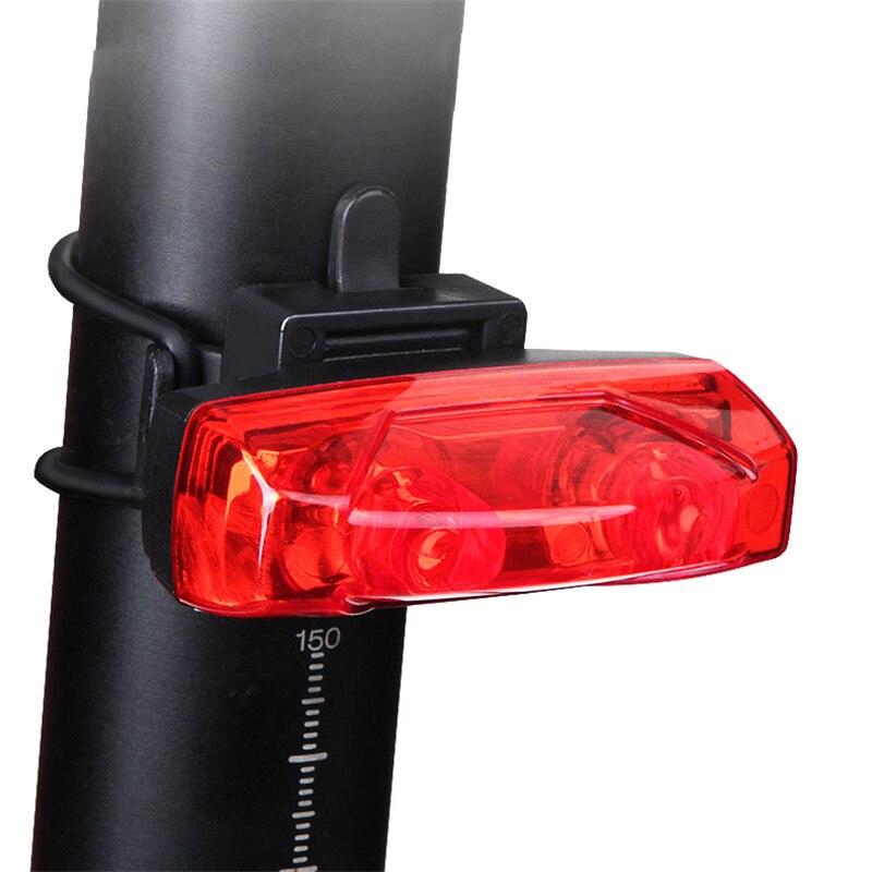 Herramienta de bicicleta luces de bicicleta luz trasera de inducción luz de advertencia de bicicletas poder magnético generar luz trasera