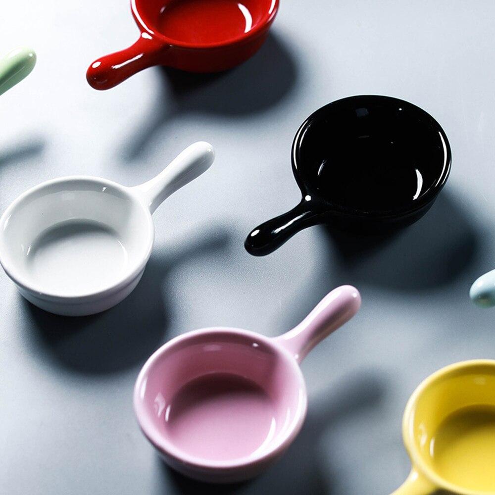 Amigos 1 piezas lindo gato Mini tamaño pigmentos cerámica salsa de soja plato vinagre mermelada platos de cocina pequeña placa vajilla Cena placas