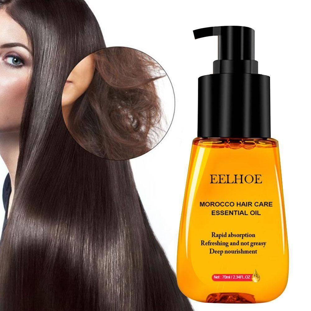 70ml Hair Care Essence Hair Care Essential Oil Pure Scalp Smooth Treatment Hair Hair For Dry Deep Repair Shiny Argan Damage J0P3 недорого