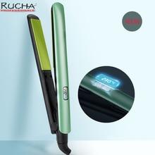 New Professional Hair Straightener Fast Heating Temperature Adjustment Ceramic Tourmaline Flat Iron