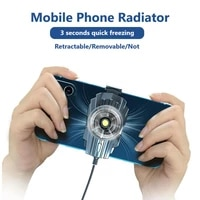 universal mini mobile phone cooling fan radiator turbo hurricane game cooler cell phone cool heat sink for iphone samsung xiaomi