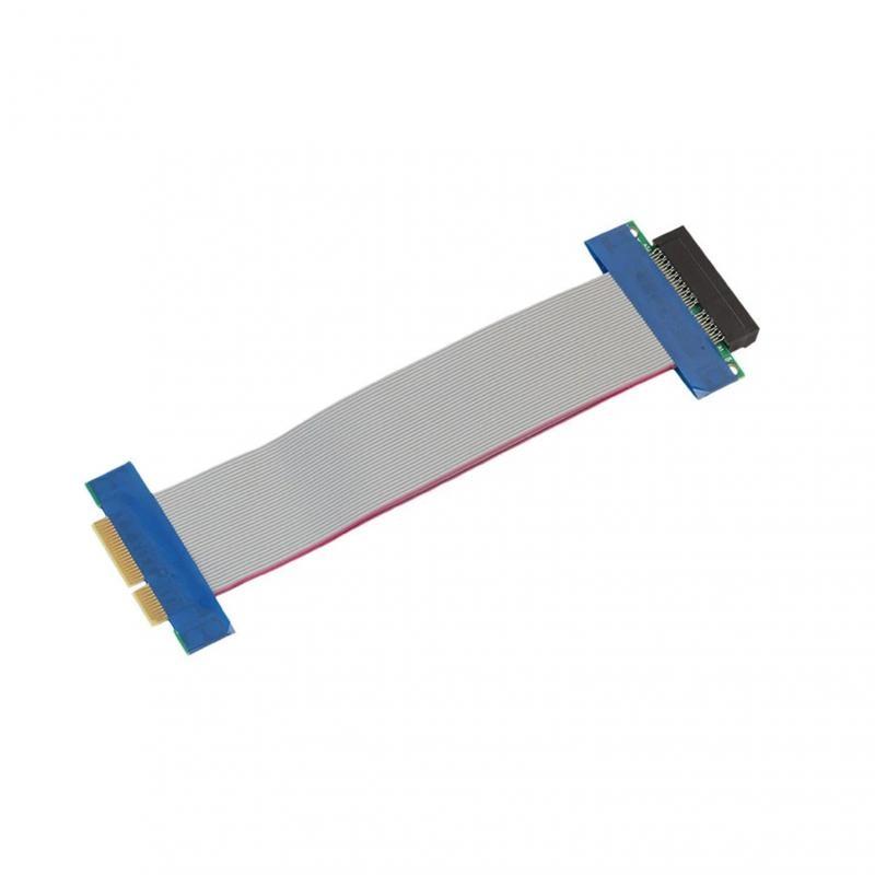 Adaptador de tarjeta lifting PCI-E exprés 1X/4X... extensor de extensión para tarjeta...