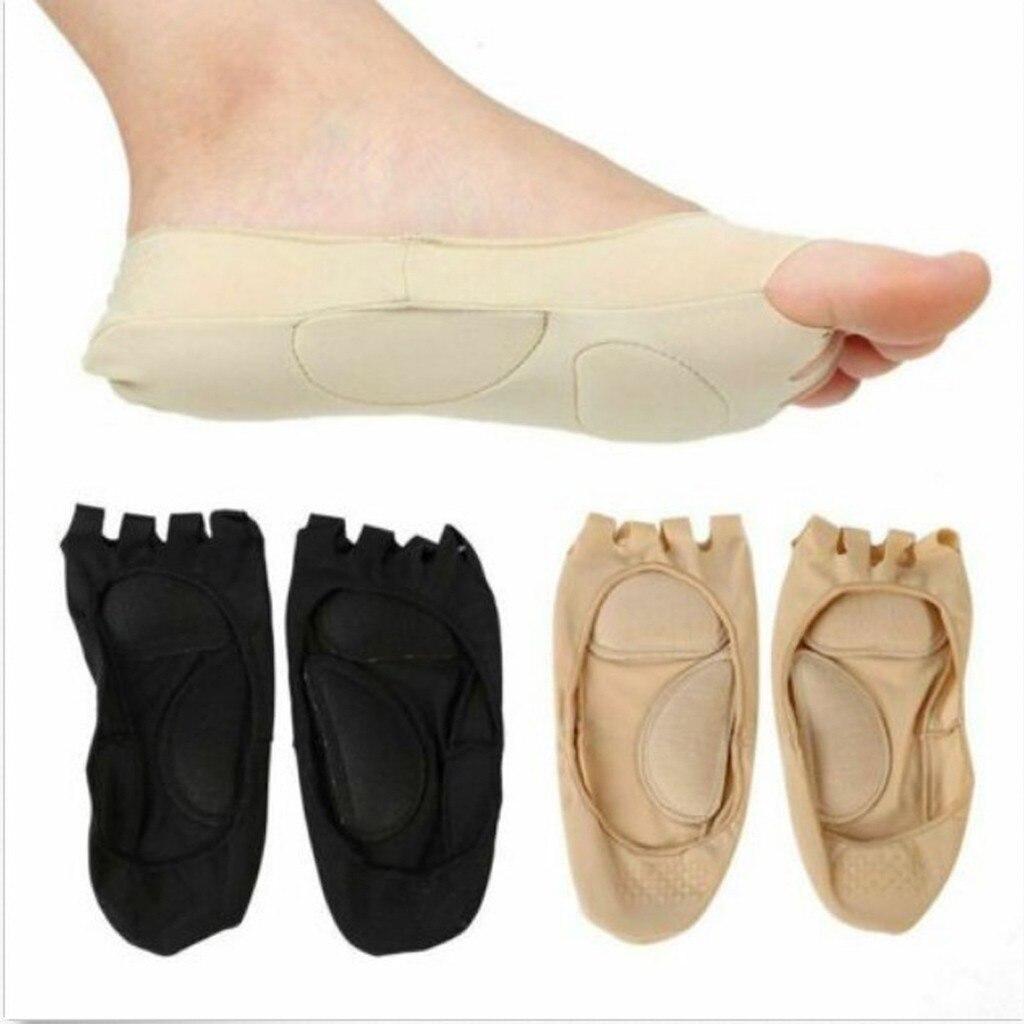 Calcetines de soporte de arco 3D masaje cuidado de la salud del pie mujeres verano otoño medias ortopédicas calcetines de silicona poliéster cuidado de los pies Sept