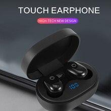 DT 8 Bluetooth écouteurs Air empreinte digitale tactile écouteurs pour iPhone Samsung Xiaomi Redmi note 7 stéréo jeu sans fil casque