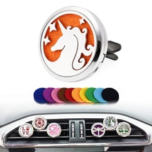 Car Air Freshener Perfume Interior Accessories Fragrance For Auto Decoration Vent Clip Pony Pattern