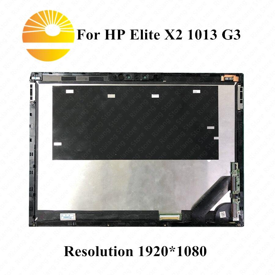Pantalla táctil LCD LED B130KAN01.0 de 13 pulgadas para HP Elite X2 1013 G3 ensamblado ordenador portátil LCD reemplazo 1920*1280 interfaz MIPI