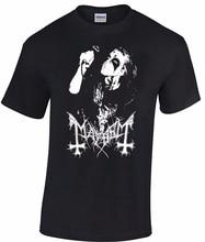 MAYHEM Dead T-shirt Norwegian Black Metal Morbid Euronymous Beherit Darkthrone Teenage Natural Cotton Printed Top Tee T SHIRT