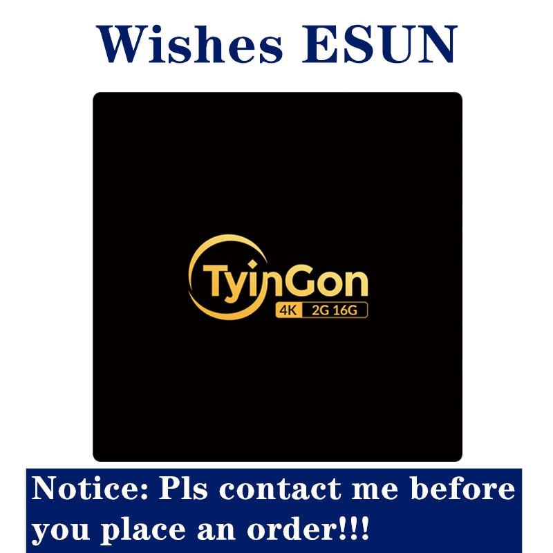TyinGon android tv box 2g 16g Wifi Sansat Esun No app