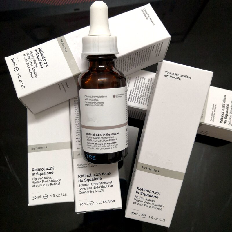 Retinol 0.2% In Squalane Ordinary 30ml Highly-Stable Water-Free Solution Of 0.2% Pure Retinol Anti A