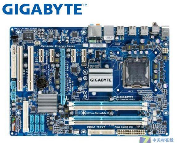 Материнская плата Gigabyte GA-EP43T-S3L EP43T-UD3L DDR3 LGA 775 EP43T-S3L UD3L 16 Гб P43