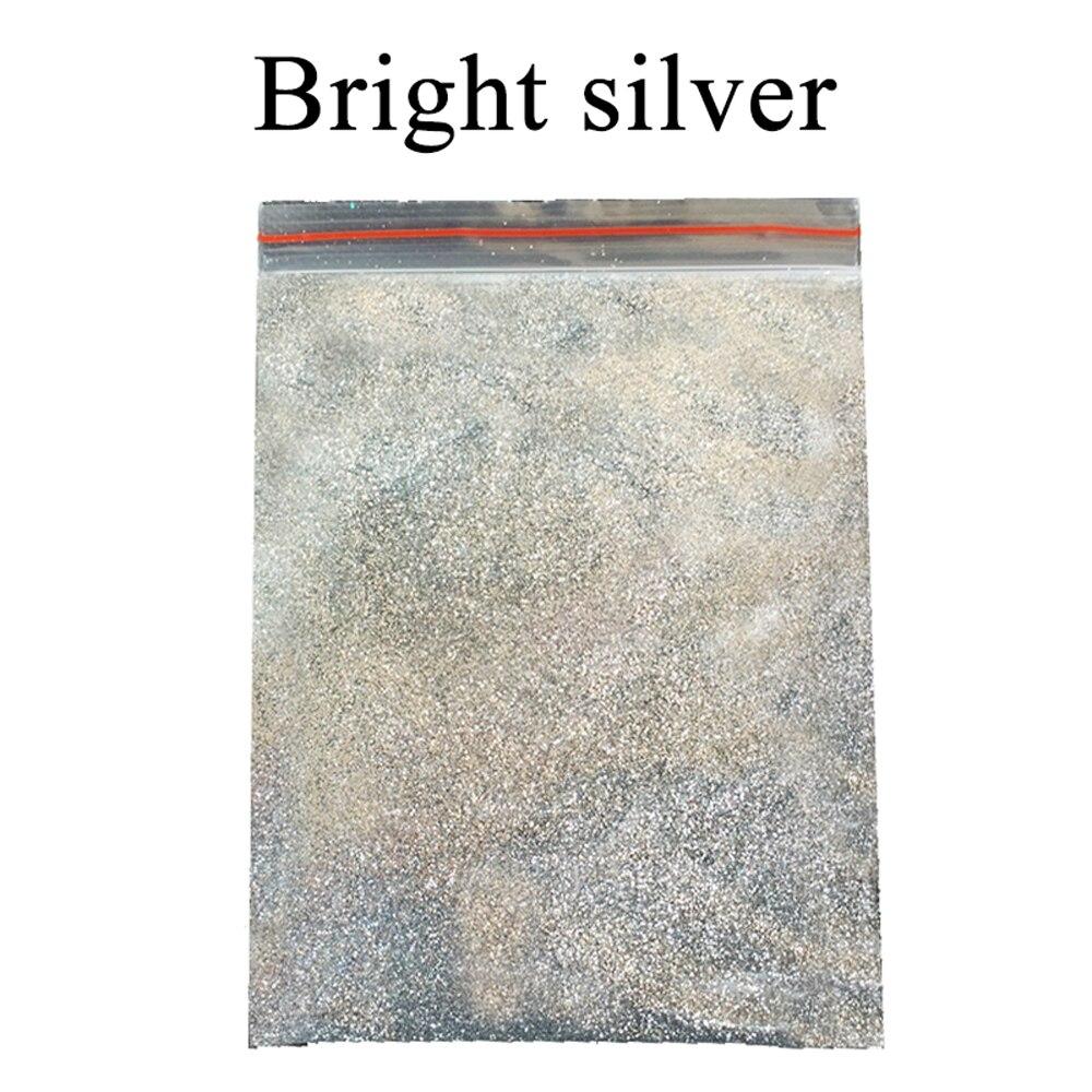 200 г блестящая пудра пигмент покрытие яркое серебро Краски порошок для Краски для художественного оформления ногтей, автомобильный искусст...