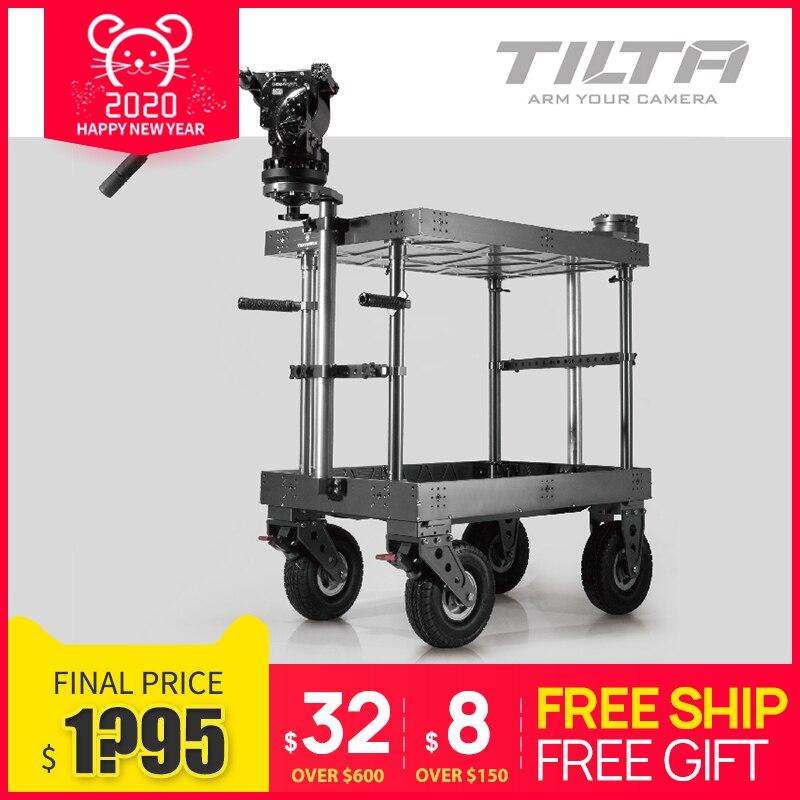 Carrito de cine Tilta carrito de Director Dolly para vídeo película carga máxima 500kg TT-TCA01