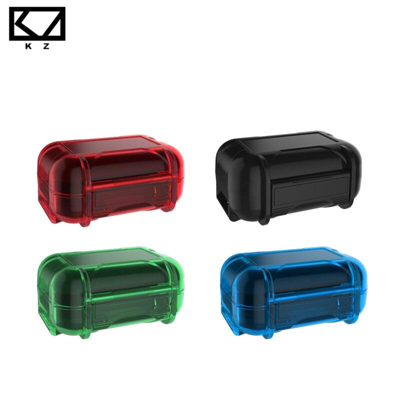 Funda protectora OPA KZ de resina ABS resistente al agua, resistente a las caídas, estuche de almacenamiento portátil colorido para KZ ZST ZSN PRO
