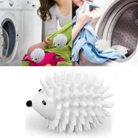 1pcs dryer balls reusable clean tools washing drying fabric softener ball dry laundry products hedgehog dry wash ball