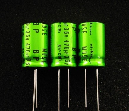 30pcs/lot Original nichicon MUSE BP/ES series non-polar audio fever aluminum electrolytic capacitor free shipping