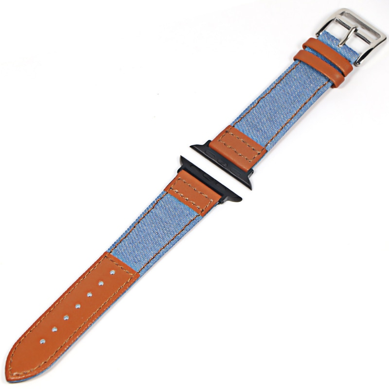 natural genuine leather loop band for apple watch 42mm 38mm women men sport strap for iwatch series 4 3 2 1 40mm 44mm wrist band Watch Band for apple watch strap Series 4 3 2 1 for Iwatch 38mm 42mm Wrist for Apple Watch Bands 44mm 38mm 42mm 40mm