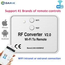 Wifi interruptor de controle remoto 433 mhz 868 mhz wifi para rf conversor multi freqüência rolamento código soquete relé interruptor interruptor interruptor interruptor interruptor interruptor interruptor interruptor remoto