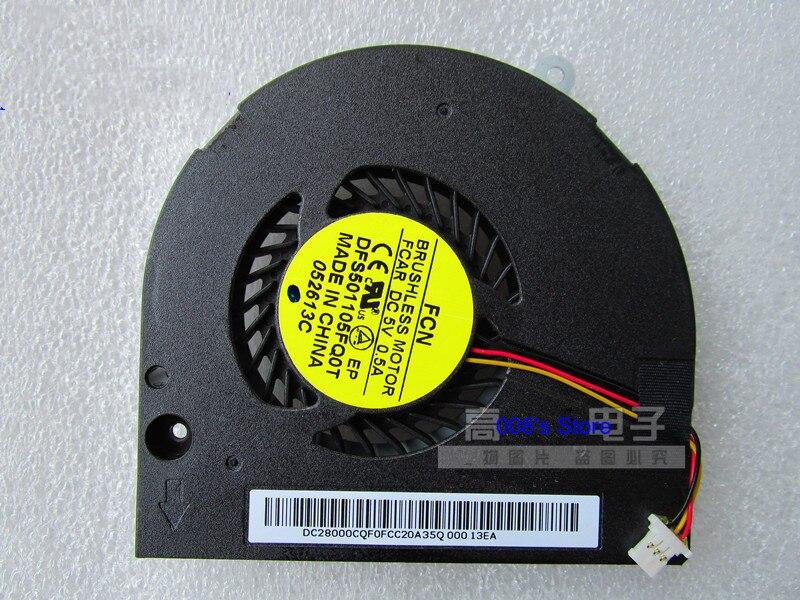 Enfriador de CPU ventilador para Acer Aspire E1-532 532P E1-572 E1-572G E1-572P E1-572PG V5-561 561G 561P 561PG DFS501105FQ0T FCAR 5V 0.5A