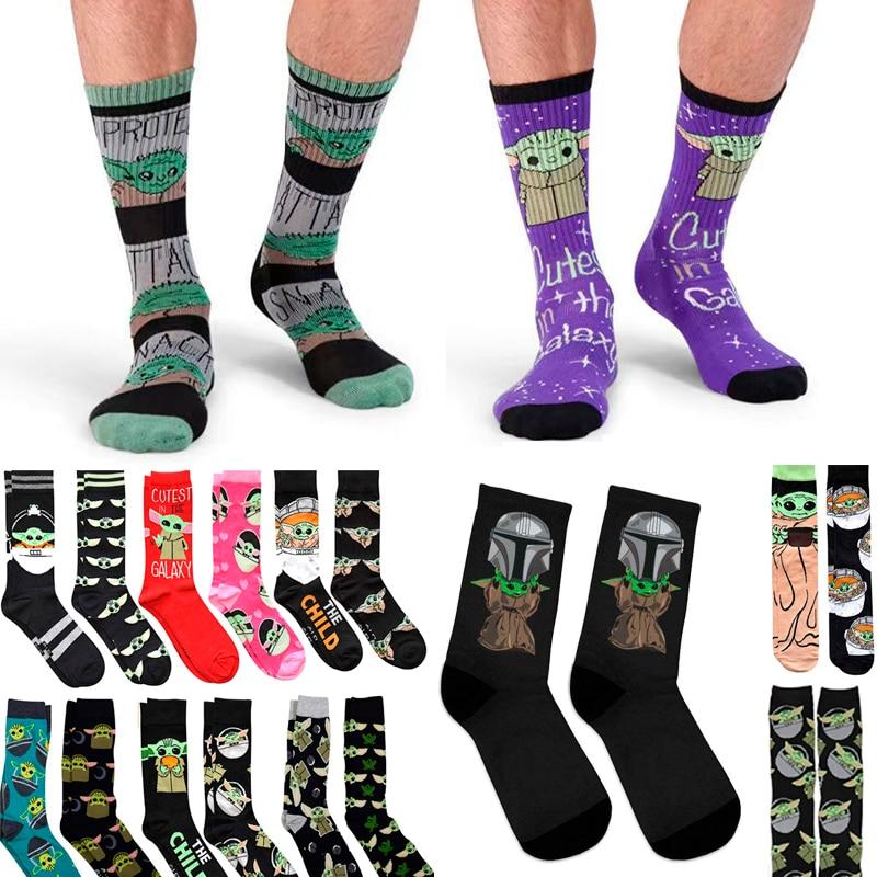 100 Pairs Men Anime Knitting Cotton Socks Women Cartoon Ankle Socks Street Style Harajuku Funny Casual Street Stance Creative