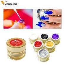 Venalisa malerei gel Nail art uv led 8ml professionelle nagel farbe gel polish uv farbe gel lack relief pull linie spinne gele