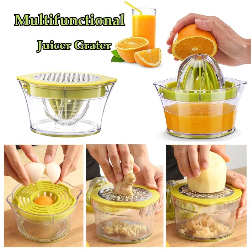 Многофункциональная терка, апельсиновая соковыжималка для цитрусовых, ручная соковыжималка для цитрусовых, лимонная соковыжималка, фруктовый кухонный пресс, резак для картофеля, измельчитель стружки
