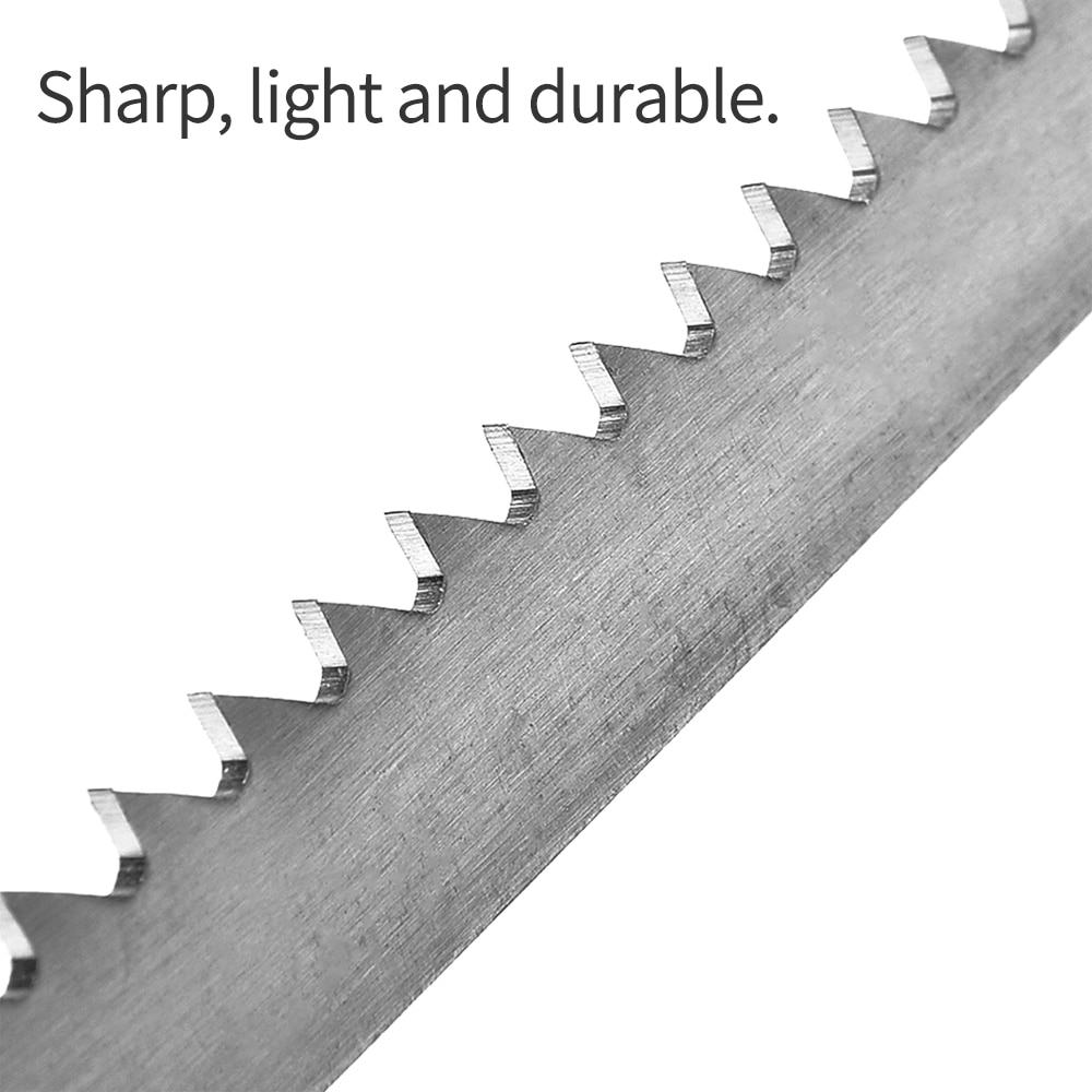 Power Saw Blade Reciprocating Stainless Steel 300mm With Fine Tooth Effective Cutting Wood Woodworking Tool Accessories