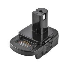 Dm18Rl Batterij Converter 18V Batterij Adapter Batterij Adapter Voor Dewalt Milwaukee Tool Batterij Adapter